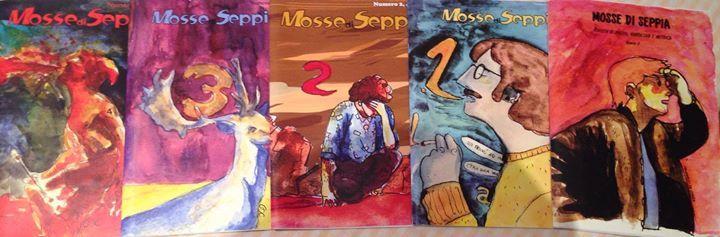 A Iocisto potete trovare i numeri della rivista Mosse di Seppia!  Venite a trovarci!  #iocistolibreria #lalibreriaditutti #mossediseppia #napoli  www.iocistolibreria.it