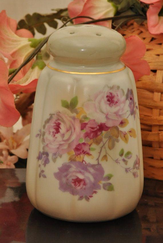 Antique Japanese Porcelain Sugar Shaker  Circa 1930s by DLDowns, $28.00