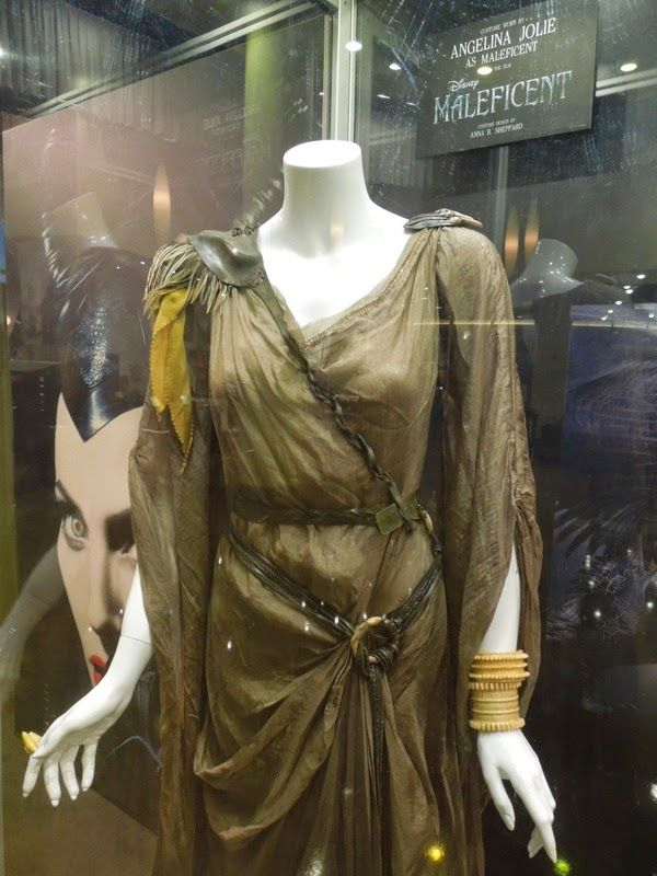 anna b sheppard costume design maleficent   ... Jolie and Elle Fanning Maleficent movie costumes on display