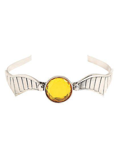 Harry Potter Golden Snitch Metal HeadbandHarry Potter Golden Snitch Metal Headband,