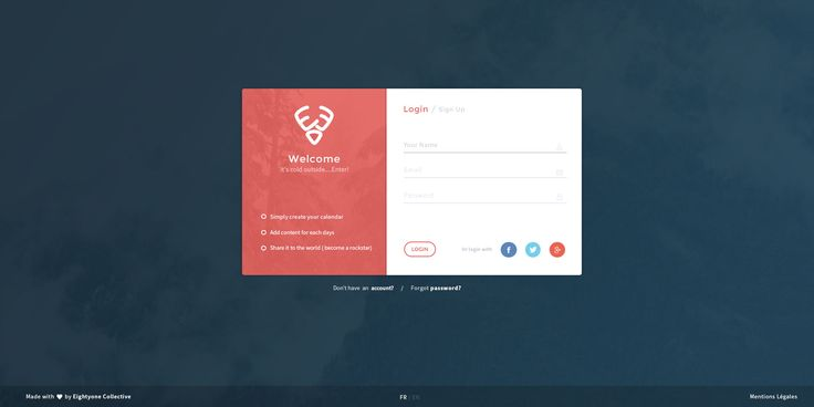 Dribbble - Login.jpg by Levetti Maxime