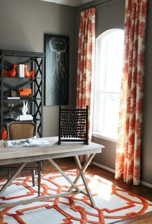 80 Best Images About Color: Orange Home Decor On Pinterest