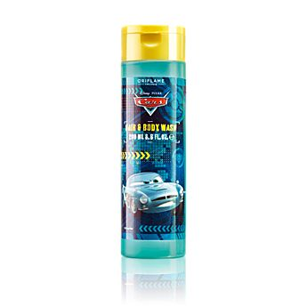 Disney Cars Pixar Hair & Body Wash    Šampón na vlasy a tělo Disney Cars Pixar