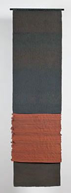 Carolina Yrarrazaval - Handwoven, LInen, Cotton, 77X23, 2001