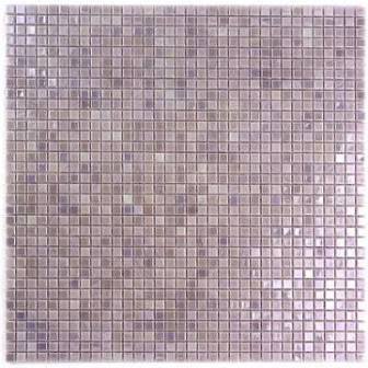 galaxy straight 031 x 031 glass mosaic tile in light purple abolos - Schwarzweimosaikfliese Backsplash