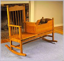 Rocking Chair Cradle Combo Plans Woodsmithing
