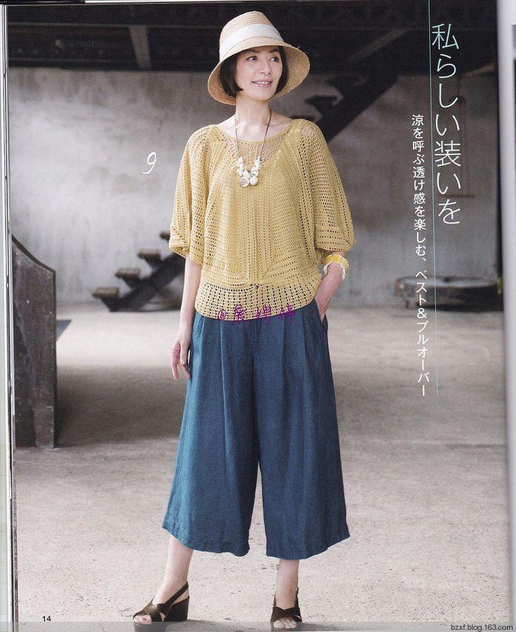 Let's Knit series NV80537钩针春夏 2017 - 编织幸福 - 编织幸福的博客