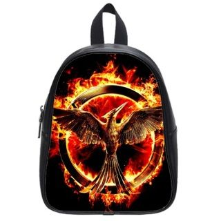 Custom School Backpack (Large) The Hunger Games Catching Fire jennifer lawrence