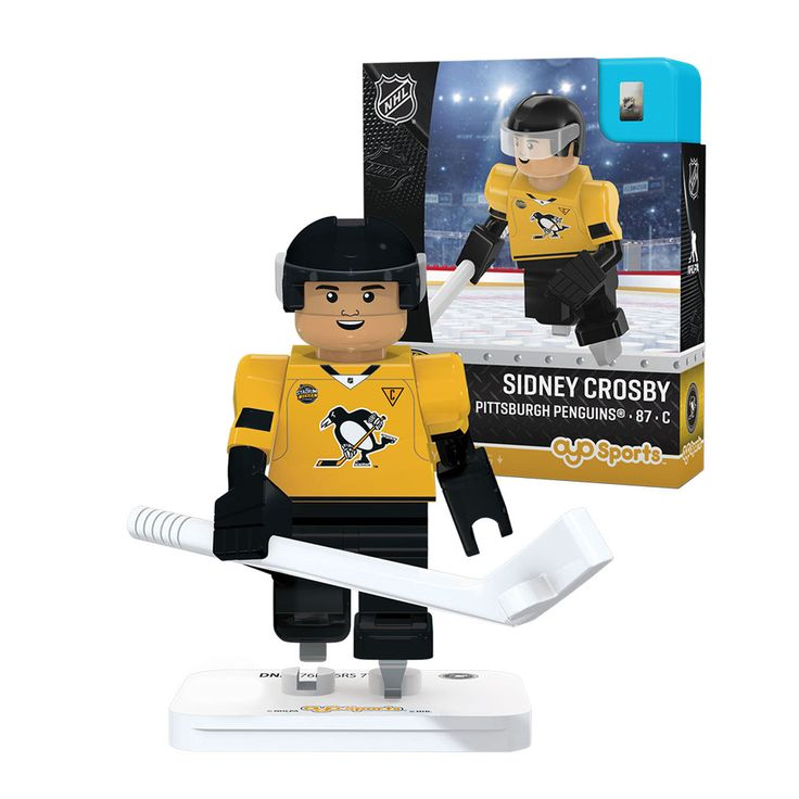 LEGO Hockey Pittsburgh Penguins | OYO Sports Sidney Crosby Pittsburgh Penguins Stadium Series 2017 ...