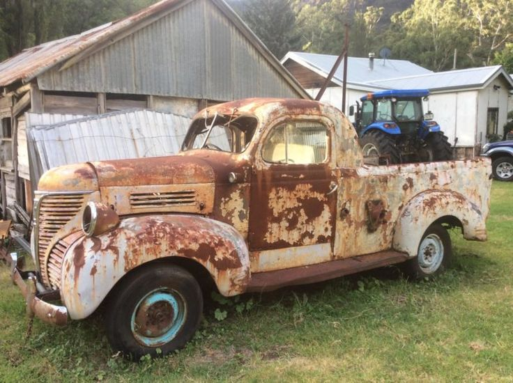 1946 Dodge Ute Utes Amp Bakkies They Built Them Out Of