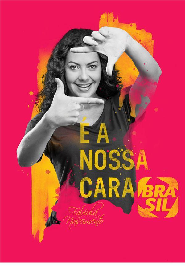 CANAL BRASIL - É A NOSSA CARA | Manipulação, Digital on Behance