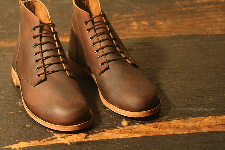-Miles and Louie Brubeck oiled boot-