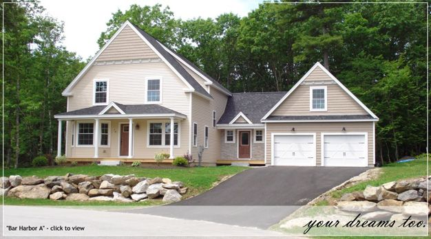 Cute cottage style home maine house plans pinterest for House plans maine