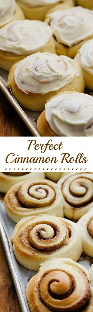 The most delicious, soft, fluffy cinnamon rolls ever!