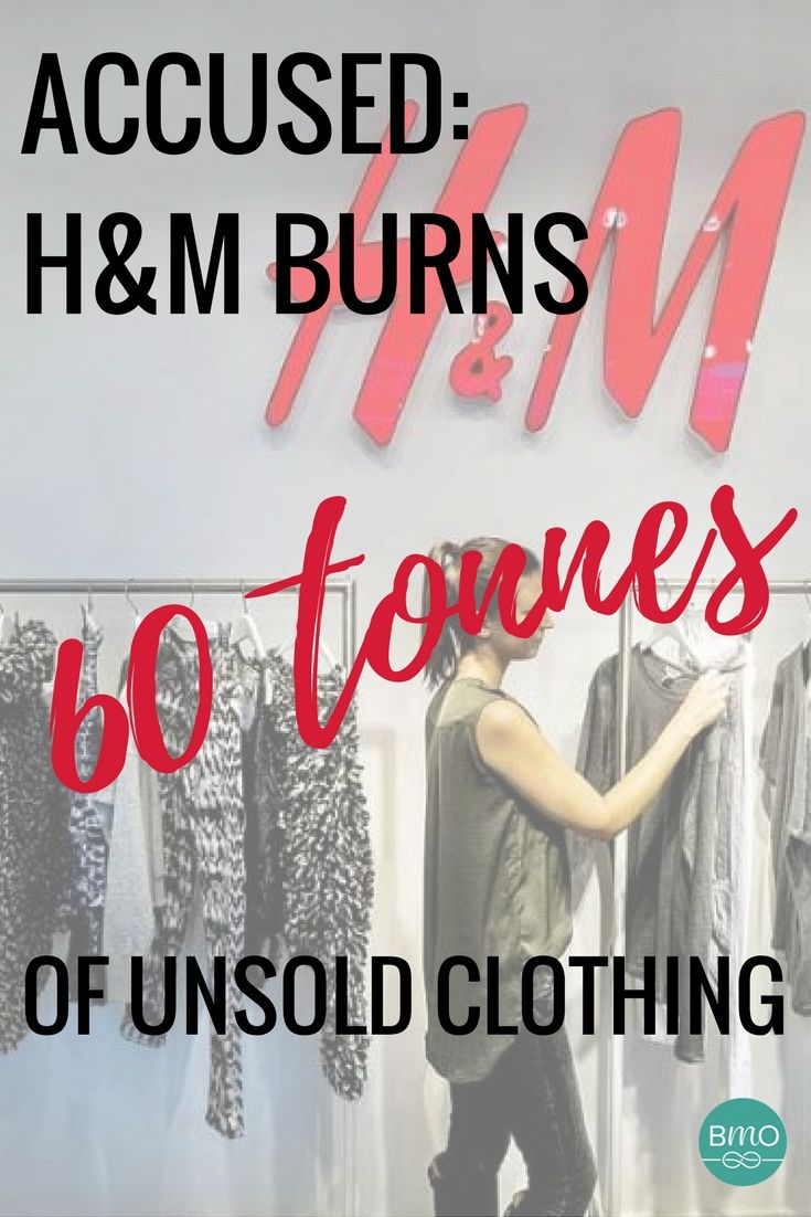 Swedish clothing giant H&M stands accused of burning 60 tonnes of unsold clothing since 2013. Help us put a stop to waste and demand more from our brands. #closetheloop