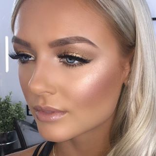 Natural Wedding Makeup 2017 : 13 best images about prom makeup on Pinterest Glow ...