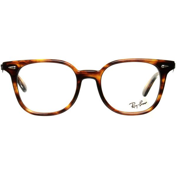 Pre-owned Eyeglass frame in Horn optics ($155) ❤ liked on Polyvore featuring accessories, eyewear, eyeglasses, brown, ray ban eyeglasses, eye glasses, lightweight eyeglasses, horn eyeglasses and retro eye glasses