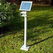 illuminazione solare per giardini