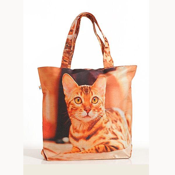 Animal Theme Bag - Cats-3