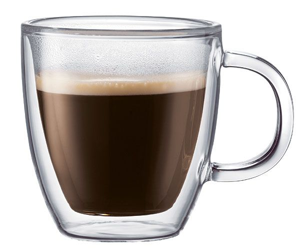 Bistro Double Walled Coffee Mug - Highly Functional!