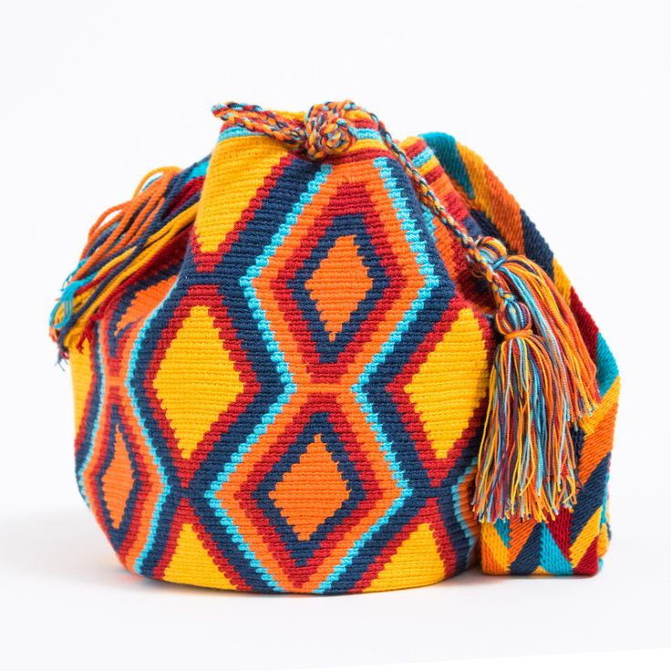 LAST CHANCE!! Sale Ending Tonight. Shop Wayuu Bags now at www.wayuutribe.com  $89.95  #Gift #Handmade #WayuuBags