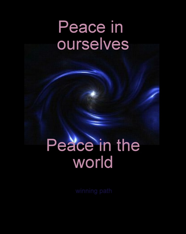 Give peace a chance~  (rePinned 082513TLK)