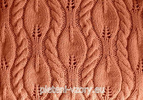 Vzor č. 97 – Kaleidoskop vzorů pro ruční pletení