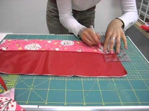 Living he crafts Tutorial como hacer una manta de brochas - YouTube