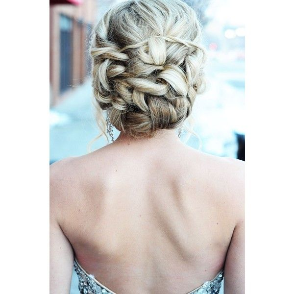 6 Long Prom Hairstyles Just For You ❤ liked on Polyvore featuring beauty products, haircare, hair styling tools, hair, hairstyles and pictures