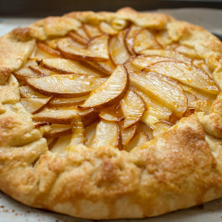 Lemongrass Crostata (gallette?) Made 11.26.15 Changes: ATK's GF flour mix, 2 medium asian pears. Next time: half as much corn starch, results were too clumpy and thick.  Tasty.  Almost forgot the vanilla. Easy to make, keep refrigerating and freezing dough as directed. Baked on parchment paper (to help transfer from rolling to filling to baking) which was good since so much butter melted away, should bake on rimmed cookie sheet next time.