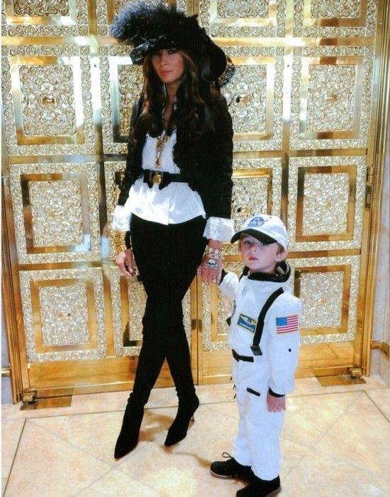 Melania Knauss Trump and son Barron Trump.......WIFE #3