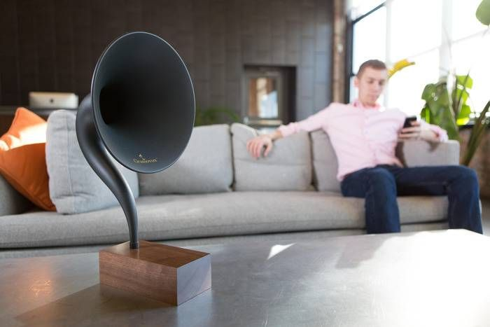 Gramovox – Stream Nostalgia With The World's First Bluetooth Gramophone, $249