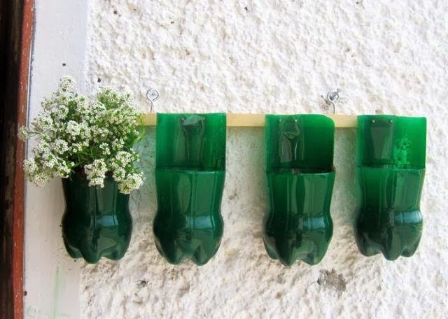 DIY Plastic Bottle Flower Pot