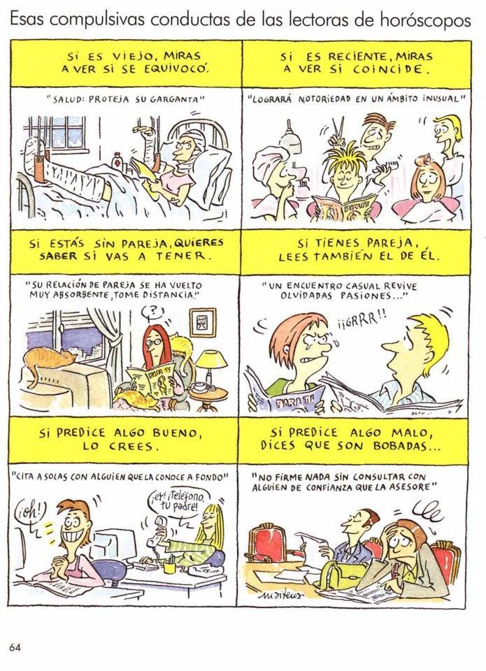 Maitena - Esas compulsivas conductas de las lectoras de horóscopos - Mujeres alteradas 2