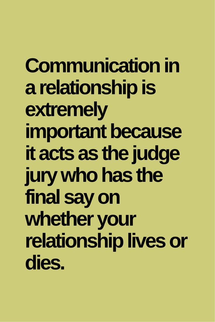 communication in relationship Communication in a relationship is one of the core essentials that bind individuals together since communication is a two-way street, people interact by paying attention when someone talks, and vice-versa.