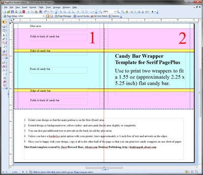 blank candy bar wrapper template for word - Vatoz.atozdevelopment.co