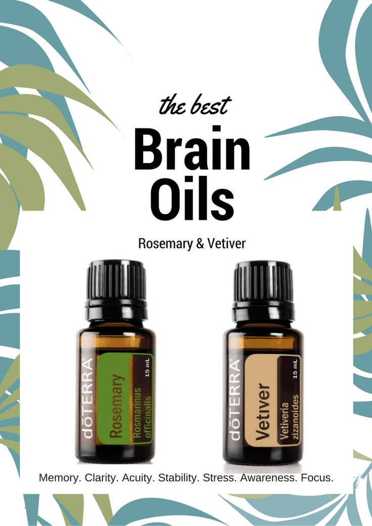 Enhance Your Brain Power In A Diffuser Or In Your Hands