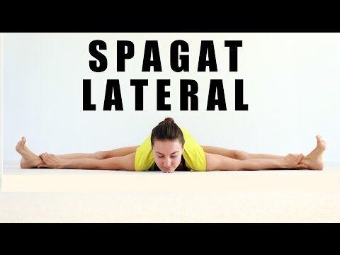 Spagat LATERAL - ejercicios para abrirse de piernas #flexichallenge - YouTube