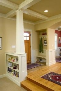 Bungalow-Entry: Interior Elements of Craftsman Style House Plans - TheBungalowCompany.com