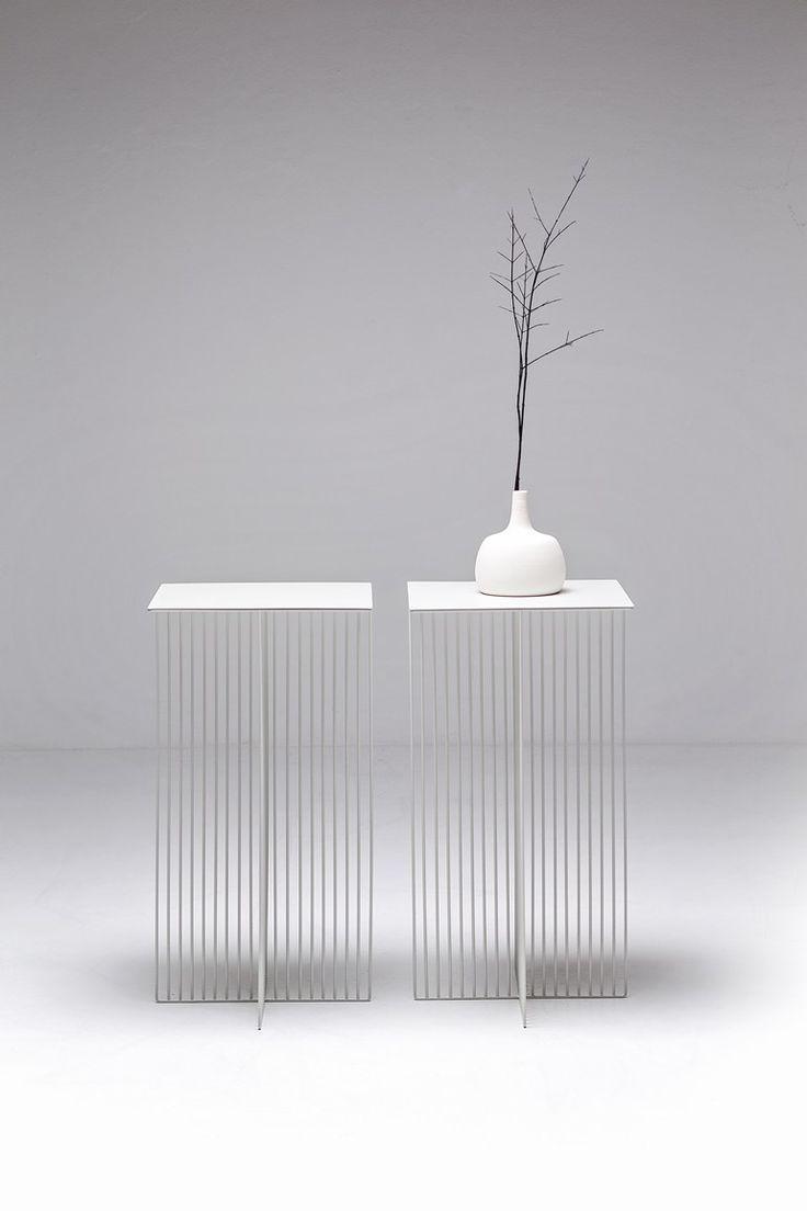 Square steel coffee table ACCURSIO by La Cividina | design Antonino Sciortino