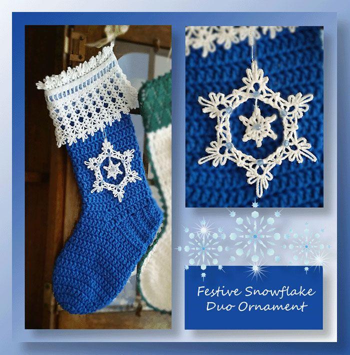 Mejores 859 imágenes de Christmas Crochet en Pinterest | Navidad ...
