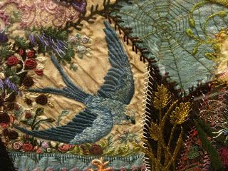 Crazy Quilting Embroidery