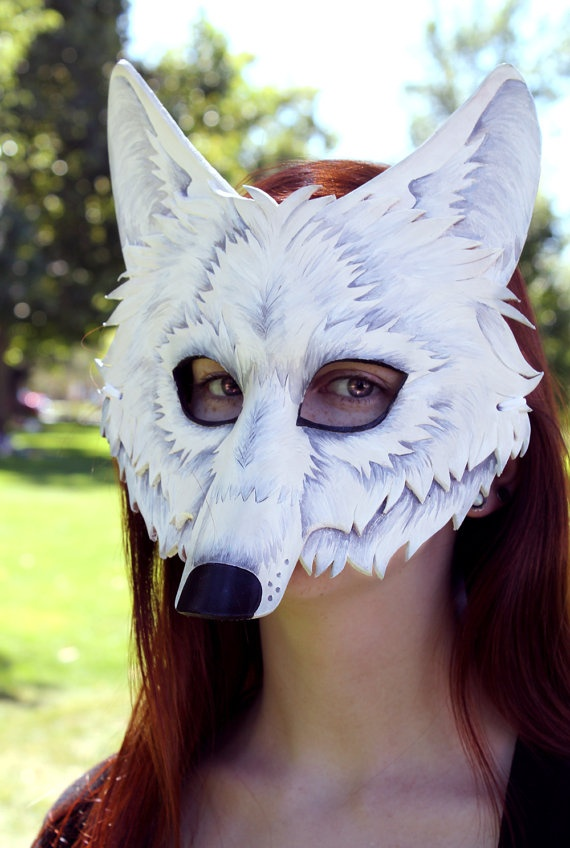 Diy Wolf Mask: 59 Best Images About Wolf Mask On Pinterest