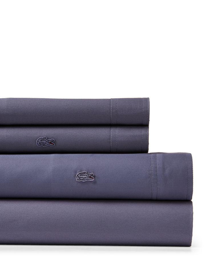 Lacoste 4-Piece Brushed Twill Twin XL Sheet Set