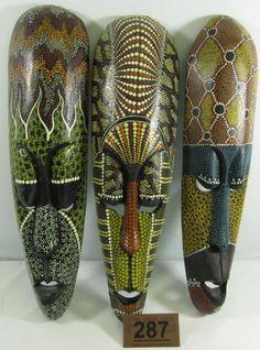 aboriginal masks - Google Search