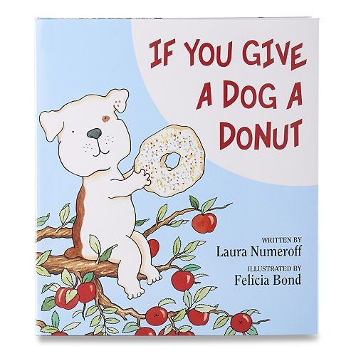kohl 39 s cares if you give a dog a donut book kohl s cares pinterest donuts kohls and products. Black Bedroom Furniture Sets. Home Design Ideas