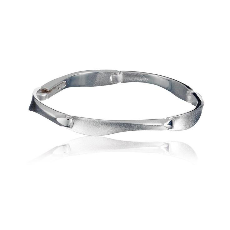 AGENA  Design Zoltan Popovits  / Silver Bracelet / Lapponia Jewelry / Handmade in Helsinki