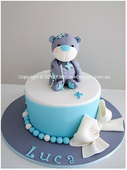 Cute Baby Boy Birthday Cakes