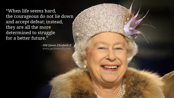 Queen Elizabeth Quote