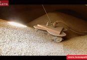 Pneumatyczny system podawania pelletu do kotła lub kominka